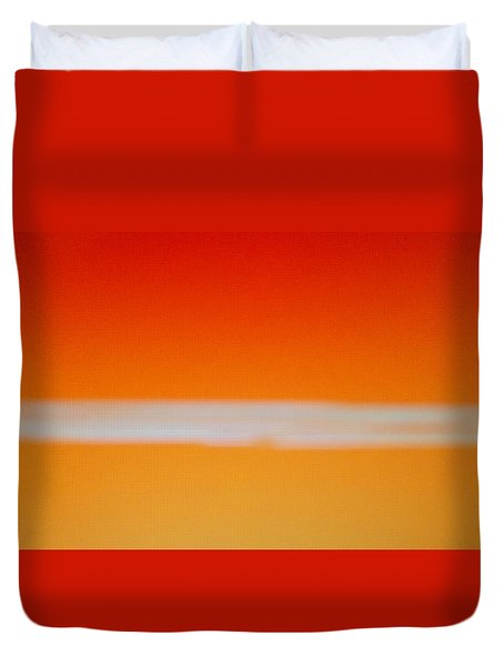 Nuclear Sunrise Duvet Cover
