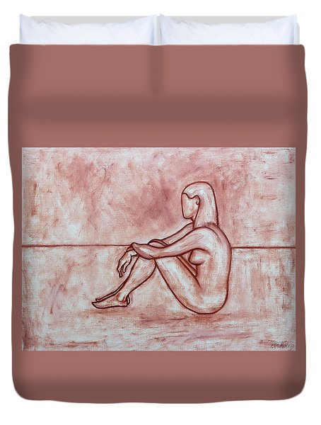 Nude 26 Duvet Cover by Patrick J Murphy