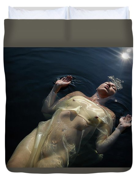 Queen Of The Lake Duvet Cover