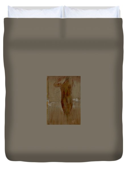 Nude Abstract 12feb2016 Duvet Cover