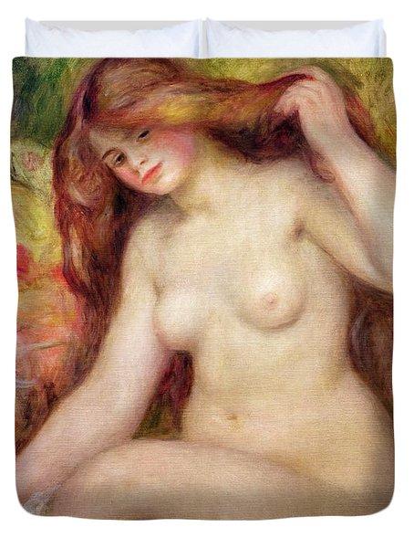 Nude Duvet Cover by Renoir