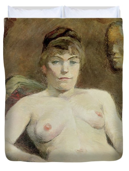 Nude Woman, 1884 Duvet Cover