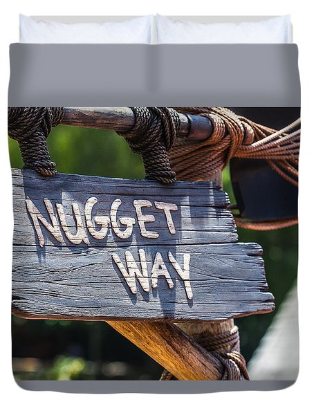 Nugget Way Duvet Cover