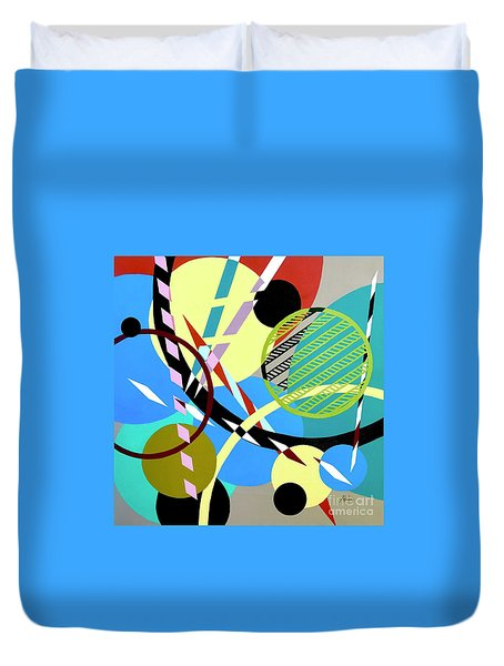 Composition #21 Duvet Cover