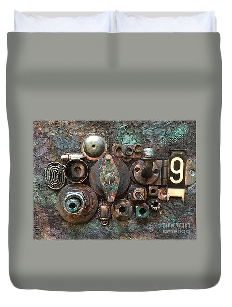Number 9 Duvet Cover