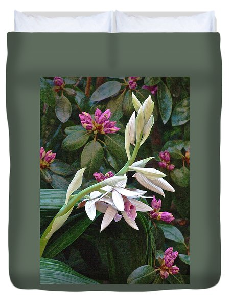 Nun Orchid Duvet Cover