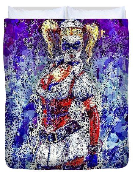 Nurse Harley Quinn Duvet Cover