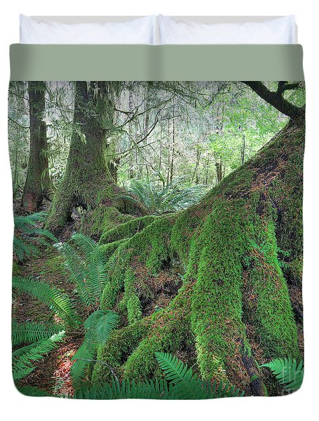 Nurse Trees Duvet Cover