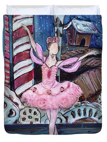 Nutcracker Sugar Plum Fairy Duvet Cover
