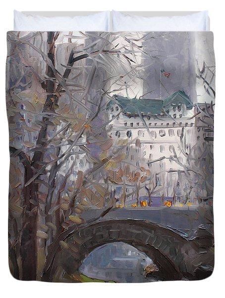 Nyc Central Park Duvet Cover