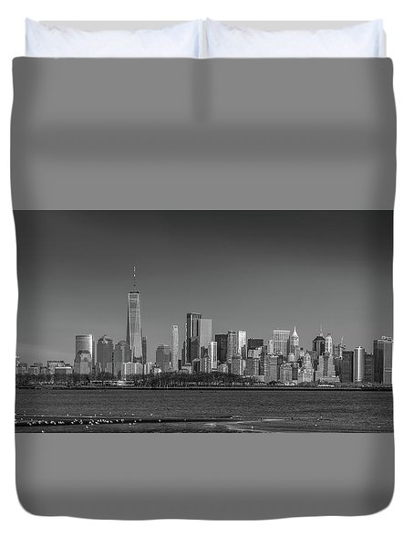 Nyc Skyline Duvet Cover