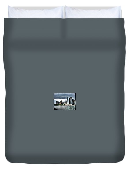 Nyc3 Duvet Cover by Donna Andrews