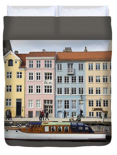 Nyhavn Pastels Duvet Cover