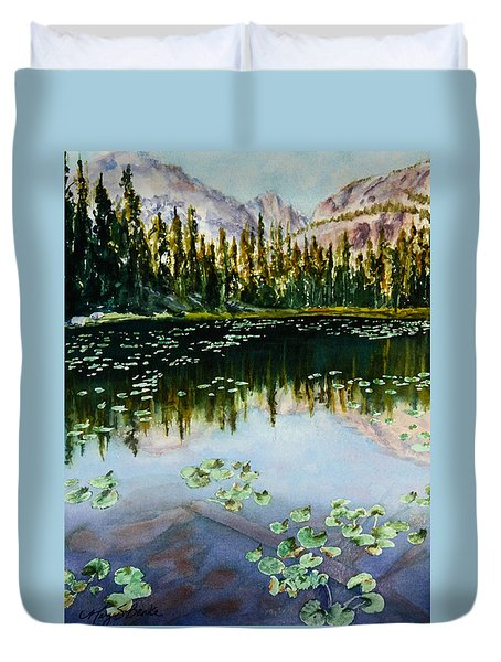 Nymph Lake Duvet Cover