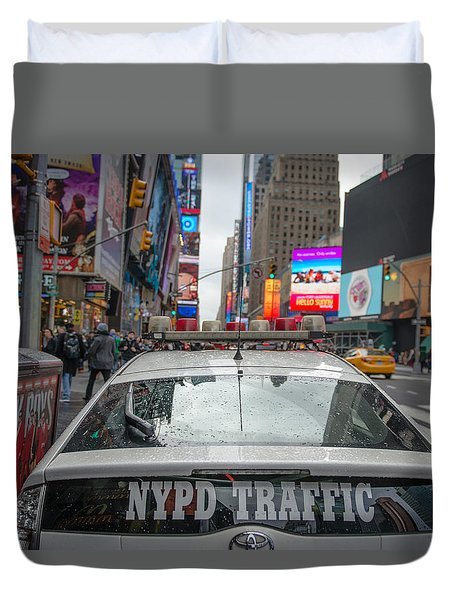 Nypd Duvet Cover