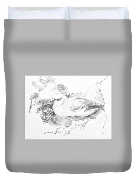 New Zealand White-capped Mollymawk Duvet Cover