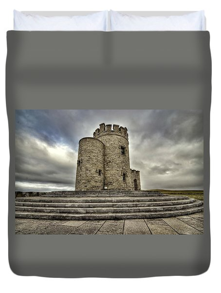 O Brien's Tower Duvet Cover