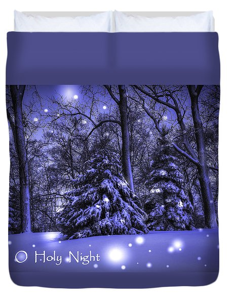 O Holy Night Duvet Cover