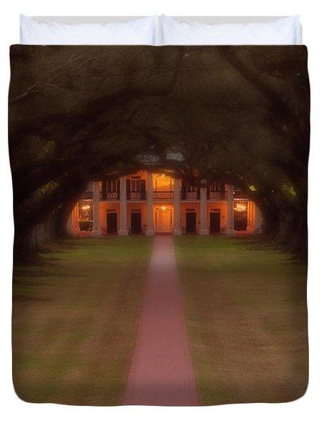 Oak Alley Plantation Duvet Cover by Jonas Wingfield