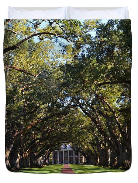 Oak Alley Plantation Duvet Cover
