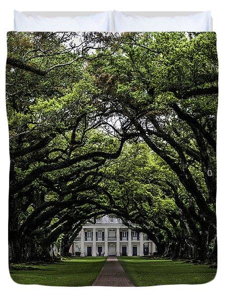 Oak Alley Plantation, Vacherie, Louisiana Duvet Cover