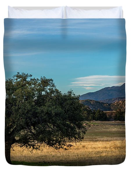 Oak And Cuyamaca Duvet Cover
