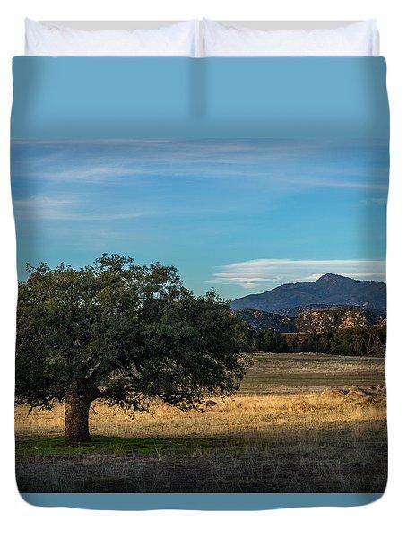 Oak And Cuyamaca Duvet Cover
