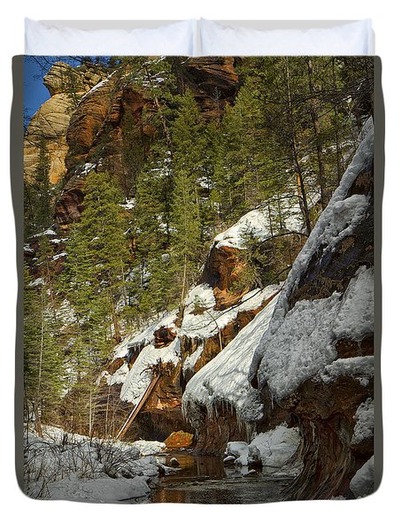 Oak Creek Beckons Duvet Cover