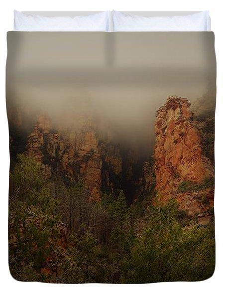 Oak Creek Canyon Arizona Duvet Cover