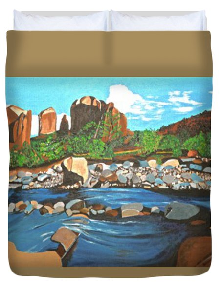Oak Creek Canyon Duvet Cover
