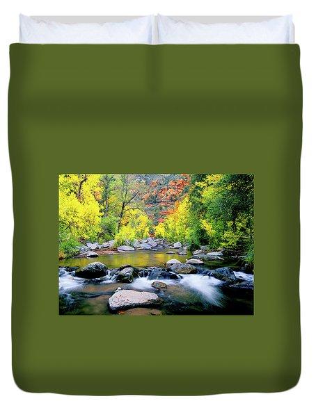 Oak Creek Canyon Duvet Cover