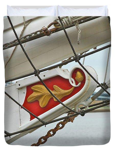Oak Leaf Duvet Cover by Rick  Monyahan