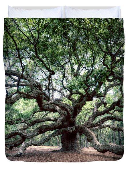 Oak Of The Angels Duvet Cover