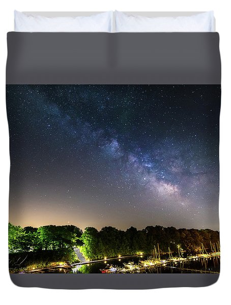 Oak Orchard Milky Way Duvet Cover