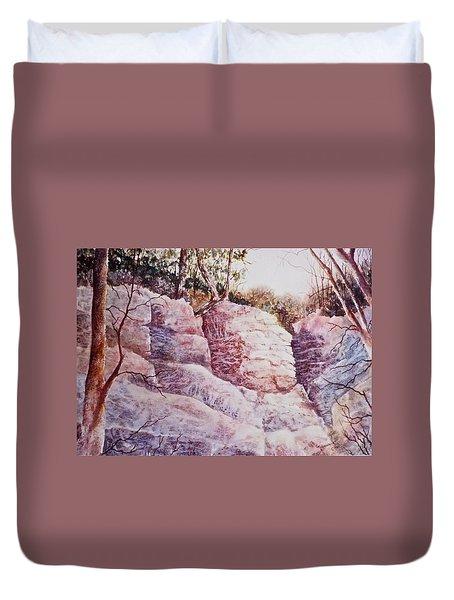 Oakfield Ridge Duvet Cover by Carolyn Rosenberger