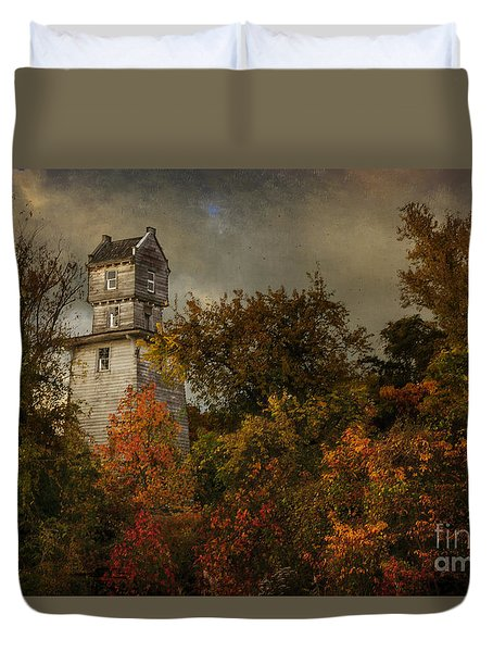 Oakhurst Water Tower Duvet Cover