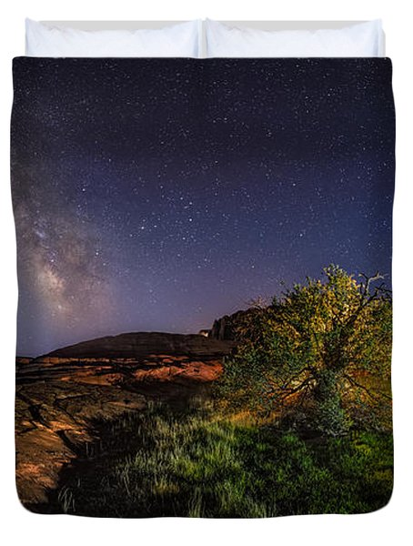 Oasis Milky Way Duvet Cover