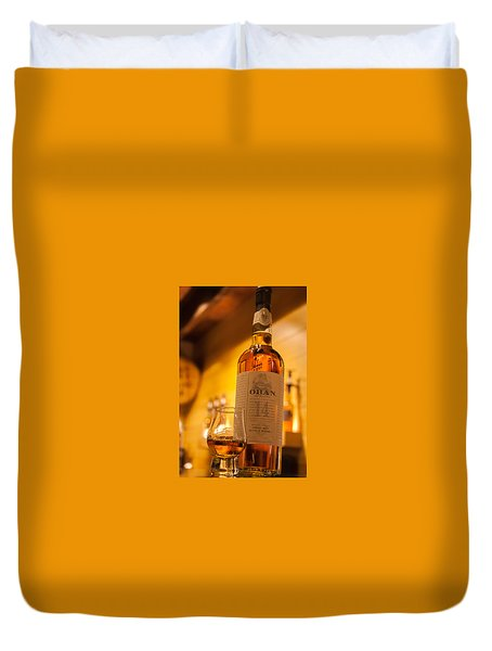 Oban Whisky Duvet Cover