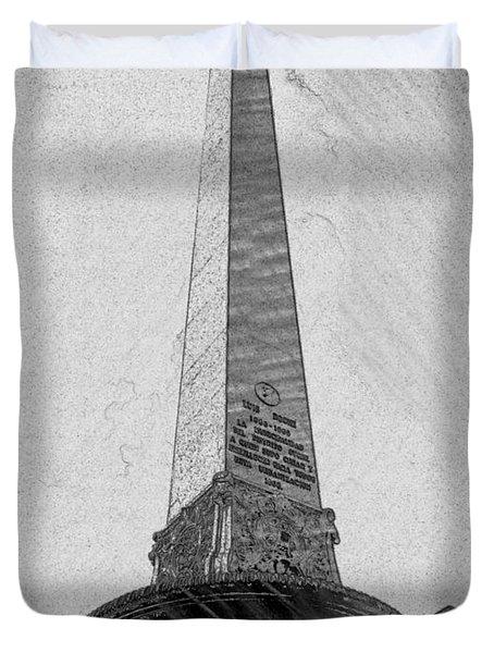 Obelisco Duvet Cover