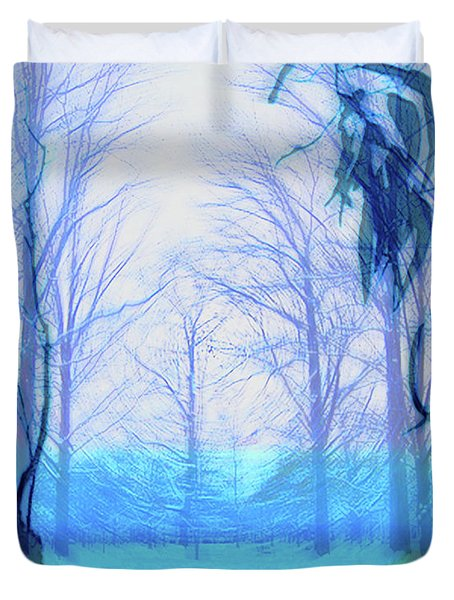 Oberlin Pacific Transition Duvet Cover