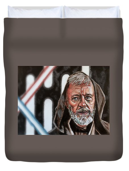 Obi-wan Kenobi's Last Stand Duvet Cover