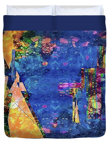 Objective Reality Duvet Cover