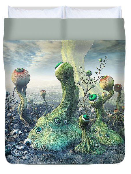 Observation Duvet Cover
