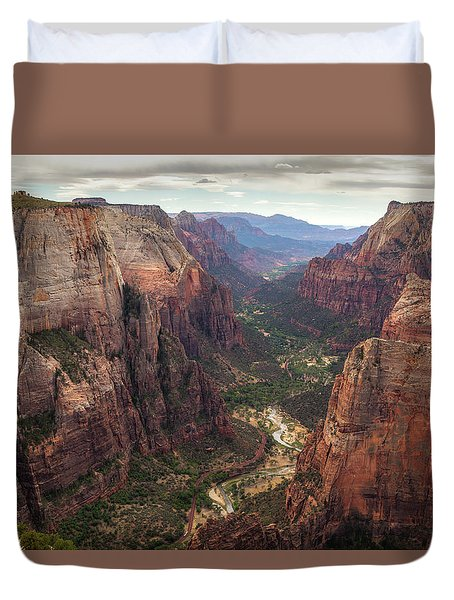 Observation Point - Zion Duvet Cover