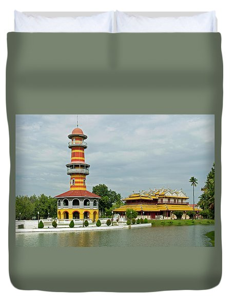 Observatory And Palace Duvet Cover