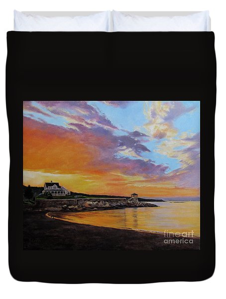 Observatory Point, Rockport, Ma Duvet Cover