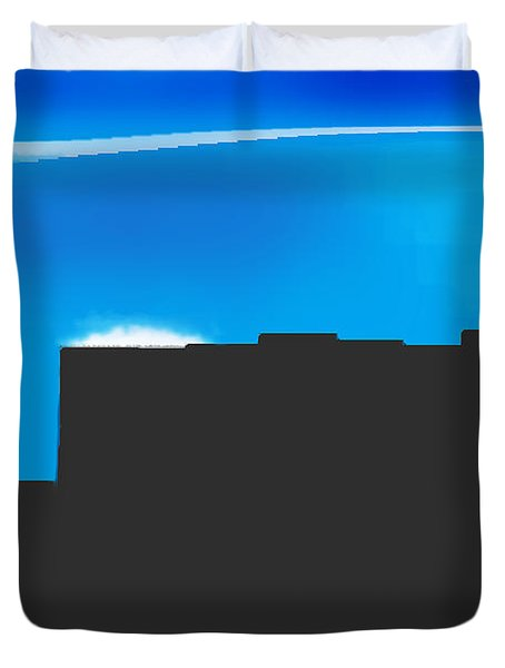 Obstructed View Duvet Cover