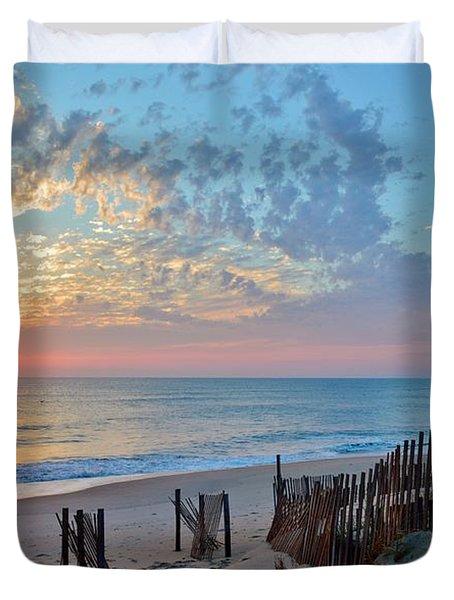 Obx Sunrise September 7 Duvet Cover