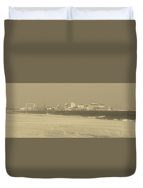 Oc Inlet Classic Duvet Cover by William Bartholomew