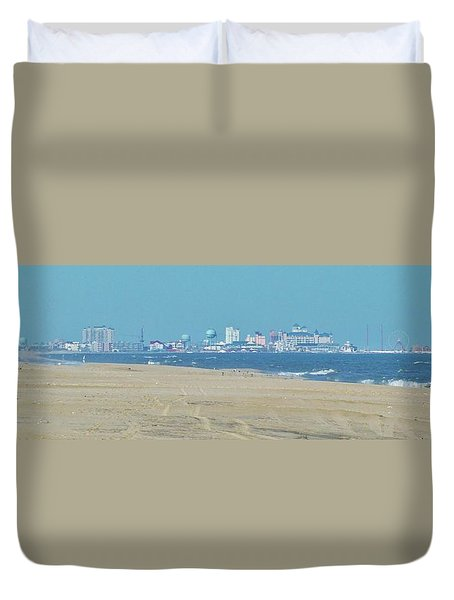 Oc Inlet Color Duvet Cover by William Bartholomew